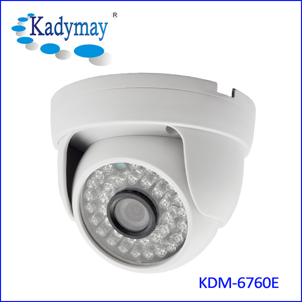 1.0Megapixels 720P IR dome IP Camera (KDM-6760E)