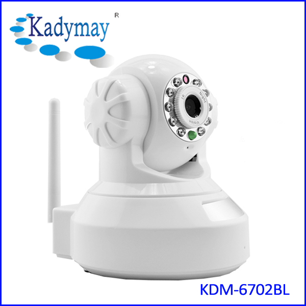 1.0Megapixels 720P Wifi Pan tilt  IP Camera KDM-6702BL